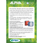 AlphaScope: HeartStart Defibrillator