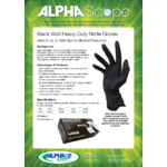 AlphaScope: Black Wolf Gloves