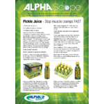 AlphaScope: Pickle Juice