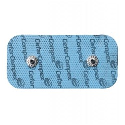 Compex Dual Snap Electrodes 5 x 10cm (Pack of 2)