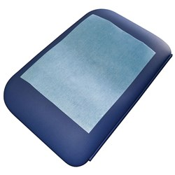 Physiopads Head Pads No Hole Blue (Carton of 700)