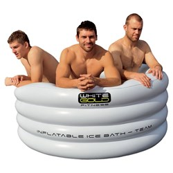 Inflatable Ice Bath - Team Includes Carry Bag & Pump