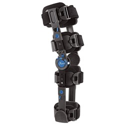 DeRoyal Warrior Recovery Post-Op Knee Brace