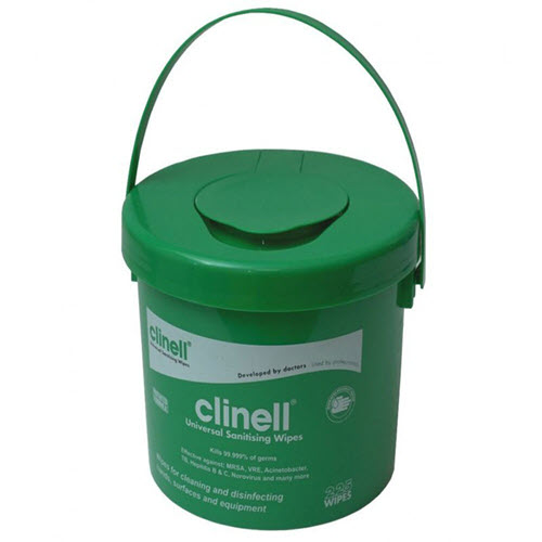 Clinell Universal Wipes Bucket (225)