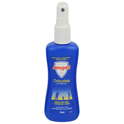 Aerogard Pump 135ml Low Scent Insect Repellent