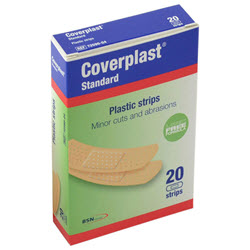 Coverplast Latex Free Plastic (20) Strips