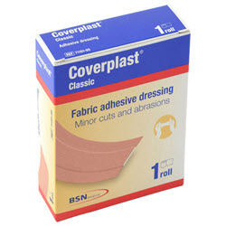 Coverplast Fabric Dressing 8cm x 1m