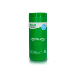 Clinell Universal Wipes Canister (100)