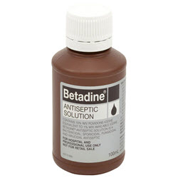 Betadine Liquid 100ml