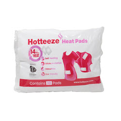 Hotteeze Heat Pads (pack of 10)