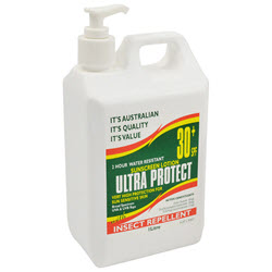 Ultra Protect 1L Pump 30+ with Insect Repellent
