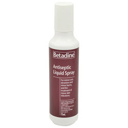 Betadine Spray 75ml