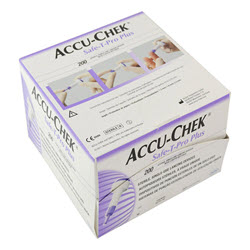 Accu-Chek Safe-T-Pro Plus Single Use Lancet Device (200)
