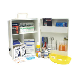 General Workplace Kit in a Wall Mounted Plastic Cabinet