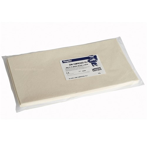 Adhesive Felt Sheet (Pack of 4) 22.5cm x 45cm