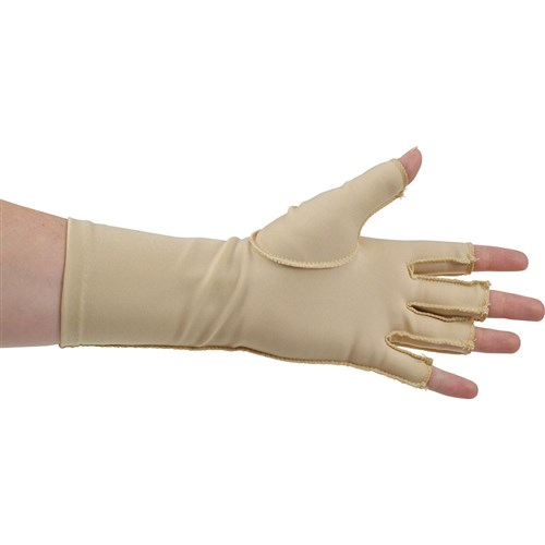 Deroyal Edema Glove - 3/4 Finger - Over the Wrist Length