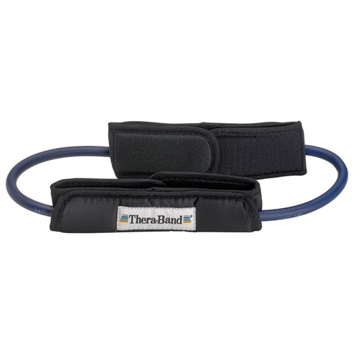Theraband Resistance Tubing Loops with Padded Cuffs